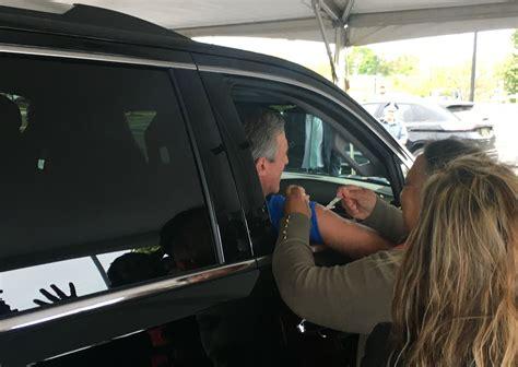 Drive-thru flu shots help Del. prep for larger public ...