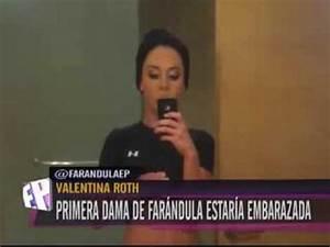 Valentina Roth estaria embarazada - YouTube