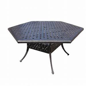 Hexagon Patio Table And Chairs Modern Outdoor Ideas Glass