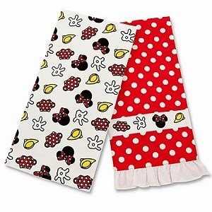 Disney Kitchen Towel Set   Minnie Mouse