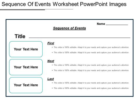 sequence   worksheet powerpoint images templates