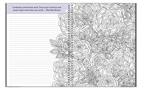 adult coloring journal  adult coloring journal