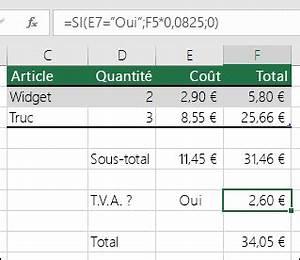 Formule Si Excel : fonction si support office ~ Medecine-chirurgie-esthetiques.com Avis de Voitures