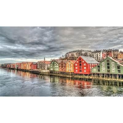 Free photo: Trondheim Norway Architecture - Image