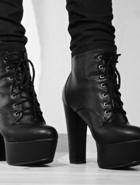 shoes black shoes high heels black fashion black