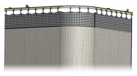 Cubicle Curtain Track Radius by Mariak Cubicle Curtain Tracks