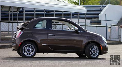 2012 Fiat 500c Lounge by Review 2012 Fiat 500c Lounge It S All About The Top
