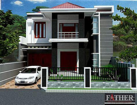 desain rumah minimalis  lantai bentuk  desain rumah