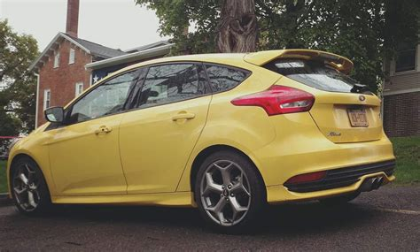 alex villa ford focus st mk facelift hot hatch
