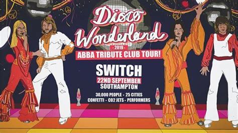 Disco Wonderland: Southampton (w/ Live ABBA Tribute Band ...