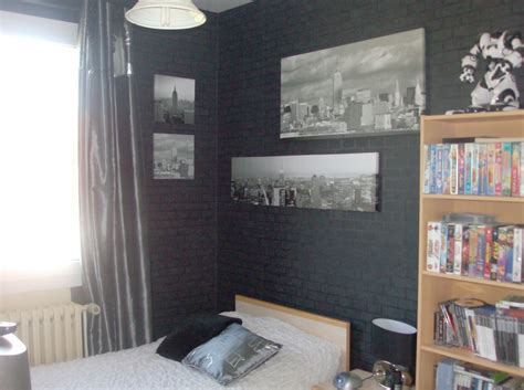chambre noir gris chambre ado photo 7 8 ancien mobilier moi j avais