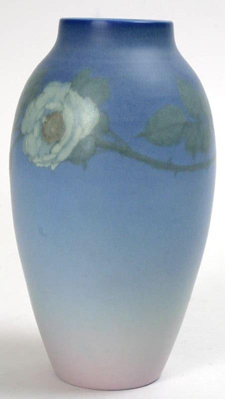 rookwood pottery vellum glaze vase ed diers