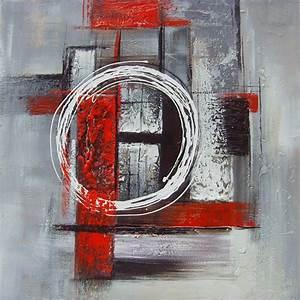tableaux peinture abstrait peintures abstraites modernes With couleur peinture pour salon moderne 14 tableau abstrait moderne rouge noir blanc