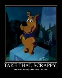Take That, Scrappy! by Dragon-Kid on DeviantArt