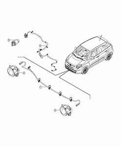 Fiat 500l Wiring  Front Fascia  Heater  Fca  Engine