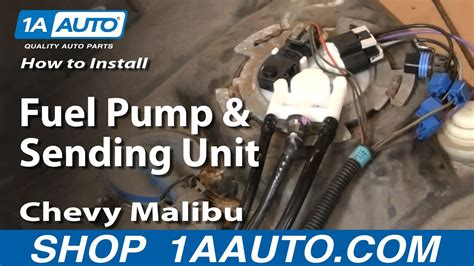 98 Cavalier Fuel Filter Removal by How To Replace Fuel Sending Unit Module 00 03 Chevy