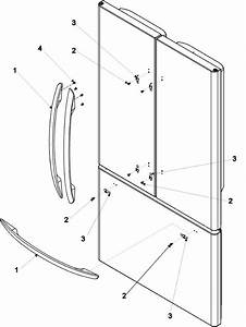 Handles  U0026 Trim Diagram  U0026 Parts List For Model 59673503202