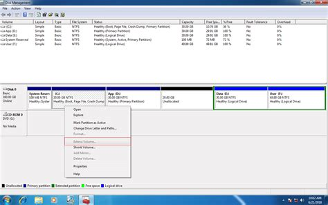 easy method to fix can t unable to extend c drive in windows 7