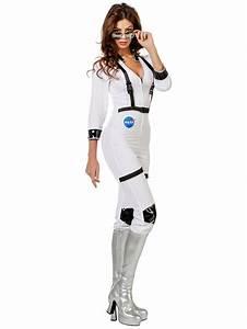 Adult Ladies Sexy Astronaut Costume - 4592 - Fancy Dress Ball
