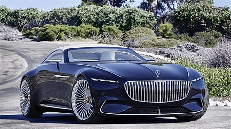 All Electric Mercedes-maybach 6 Cabriolet Concept Revealed