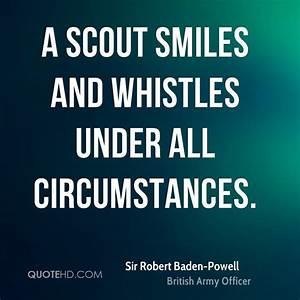 Sir Robert Bade... Skout Quotes