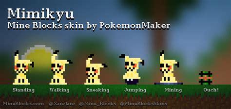 blocks mimikyu skin  pokemonmaker