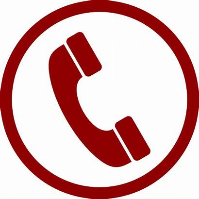 Clip Phone Telephone Clipart Emergency Call Clker