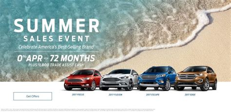 ford summer sales event kicks   lasco ford