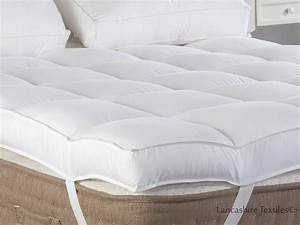 Slight seconds hotel quality 4 inch thick extra deep for Best thick mattress topper