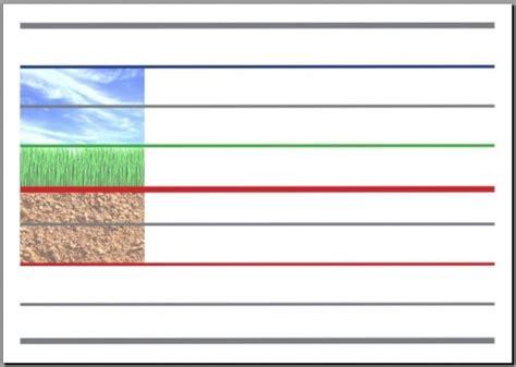 vers l 233 criture cursive affiche mixte lignes guides terre sol ciel et seyes traditionnel a