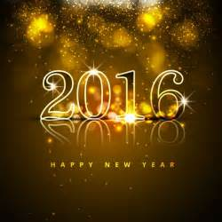 new year 2016 glitters background vector free