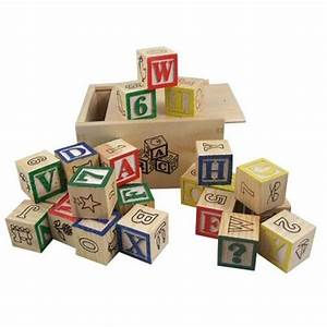 letters and numbers printing building blocks wooden toys With building letter blocks