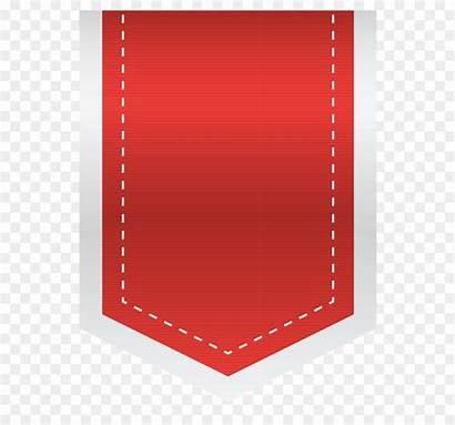 Label Empty Clipart Heart Gambar Square Merah