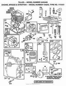Ayp  Electrolux 3455a89  1998  Parts Diagram For Engine
