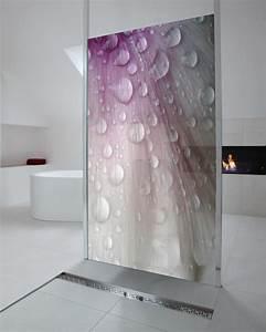 Glasscheibe Für Dusche : fotodesign glasduschw nde f r visuelle frische im bad ~ Lizthompson.info Haus und Dekorationen