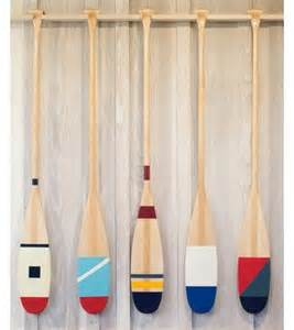 hand painted oars paddles nautical pinterest