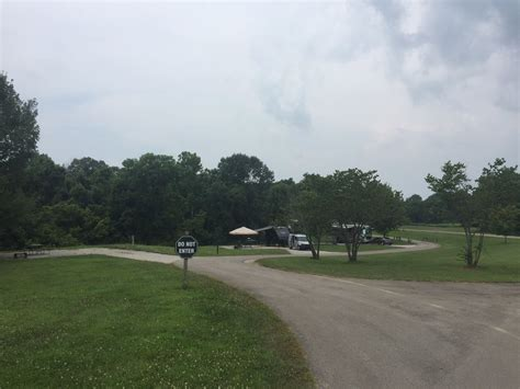 taylorsville lake state park campground rv parks ky