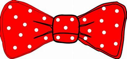 Bow Clip Tie Polka Dot Clipart Mouse