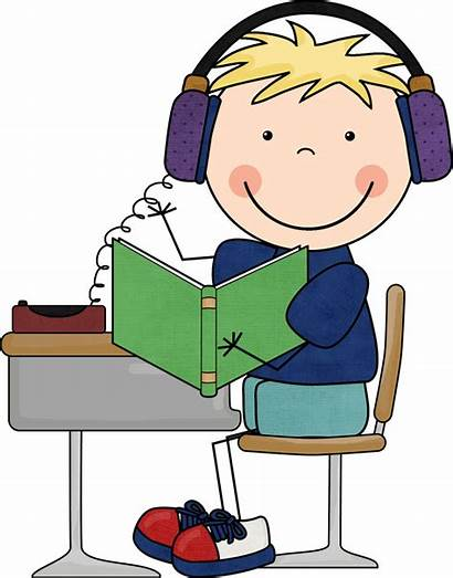 Listening Clipart Center Clipartion Reading