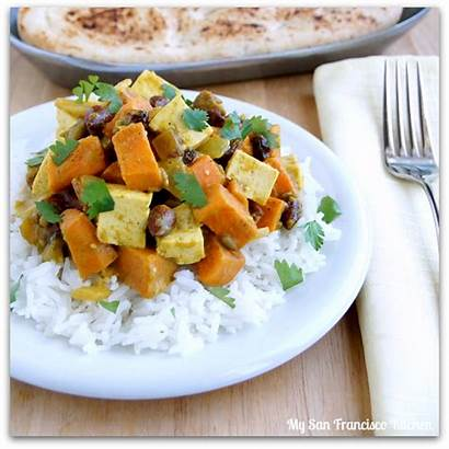 Potato Sweet Curry Recipes Recipe Jamaican Tofu