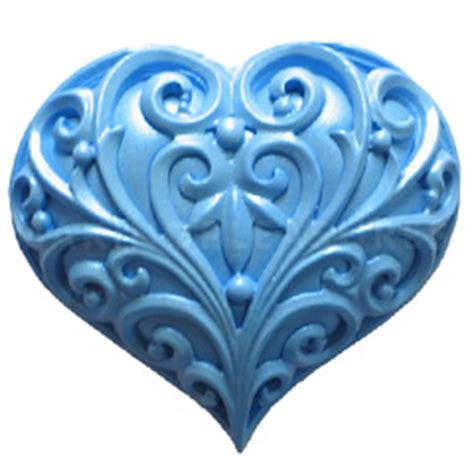 impressions moulds filigree heart