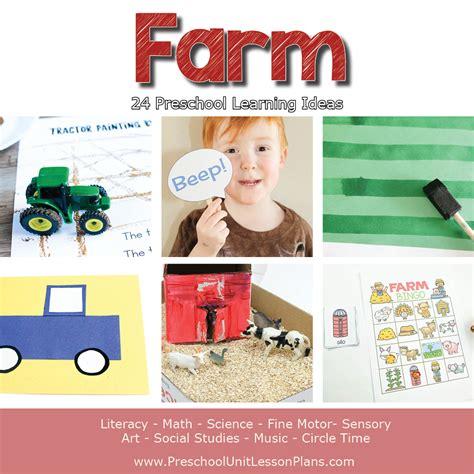 muddy truck edible sensory bin 731 | farm preschool unit theme ideas