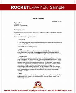 Letter of Agreement Form Template (with Sample)