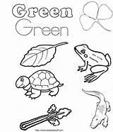 Green Coloring Worksheets Pages Kindergarten Preschool Worksheet Word Sheet Words Orange Colors Activities Printable Pre Purple Yellow Worksheeto Sheets Prek sketch template