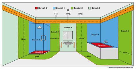 haus elektroinstallation selber machen elektroinstallation installationszonen badezimmer elektroinstallation selber machen
