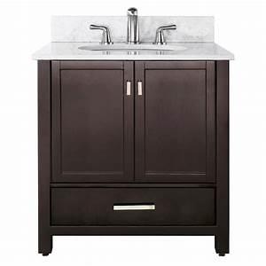 """36"""" MODERO Bathroom Vanity (Espresso) :: Bathroom Vanities"""