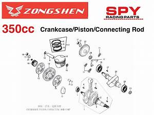 350cc Zongshen Engine Diagrams Spyracing Engine Parts