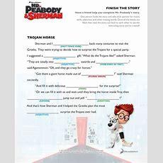 Finish The Story • The Trojan Horse • #mrpeabodyandsherman  Mr Peabody & Sherman  March 7
