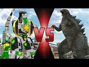 GODZILLA vs DRAGONZORD (Power Rangers) DEATH BATTLE! - YouTube