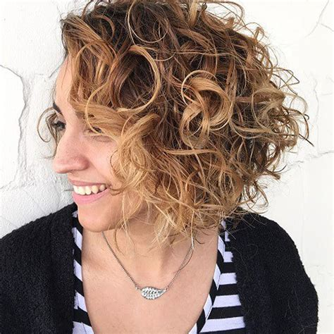 bob styles for curly hair curly bob hairstyles for autumn winter hair